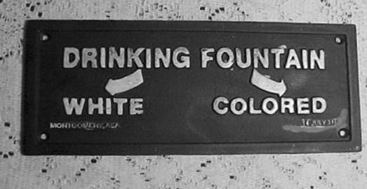 Image result for 1950s america racial segregation